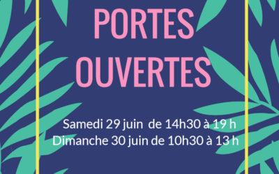 Portes ouvertes Juin 2019